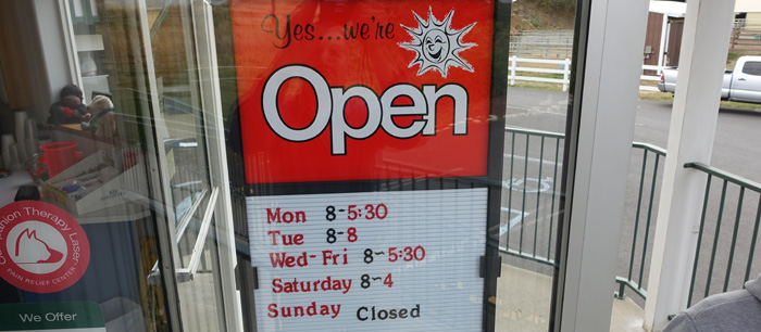 We are now open later!